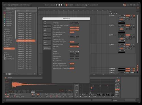 Elegant Carrot Theme for Ableton 10 by fareomg