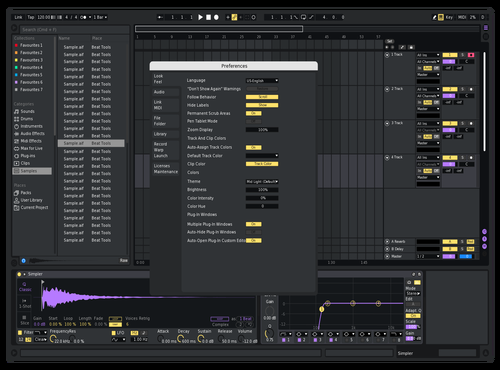 Idea Theme for Ableton 10 by Reaver