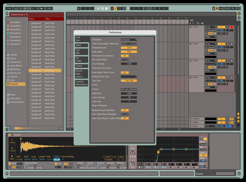 Default Theme for Ableton 10 by David Lang