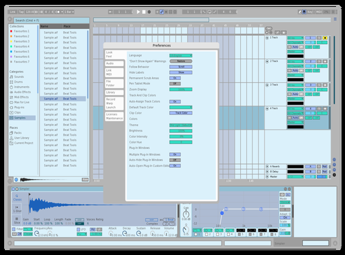 Cool Breeze Theme for Ableton 10 by niceberg
