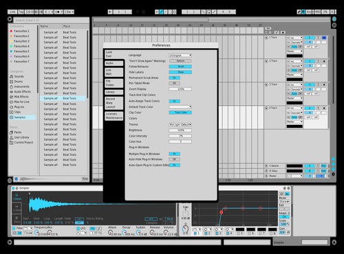 Ismidy Theme for Ableton 10 by Ike