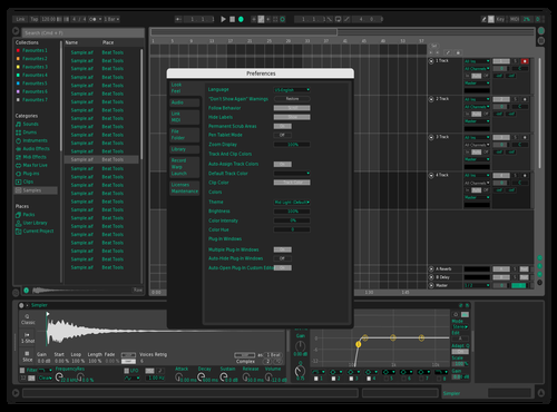 Theme name Theme for Ableton 10 by Tanguy