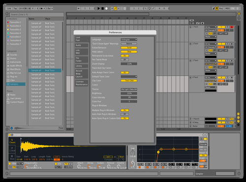 DEFW9 Theme for Ableton 10 by david