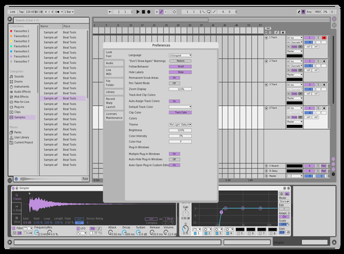 Test Theme for Ableton 10 by jj