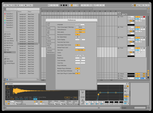 Light v5 Theme for Ableton 10 by uchini