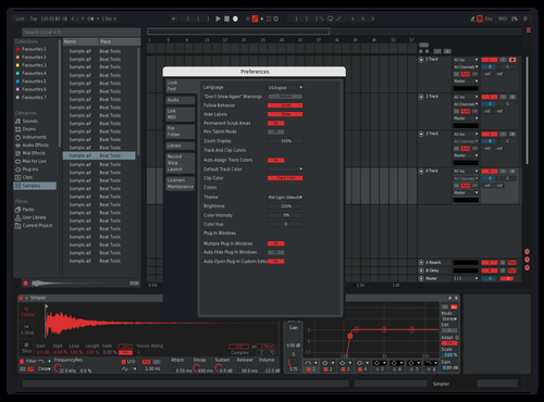 CleanRed Theme for Ableton 10 by Johnny