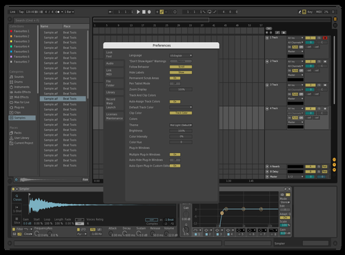 Tom Theme for Ableton 10 by Tom Taylor