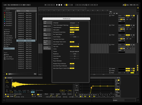 Bumble Bee Theme for Ableton 10 by Shaun