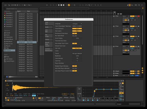 Dark_2 Theme for Ableton 10 by version.onee