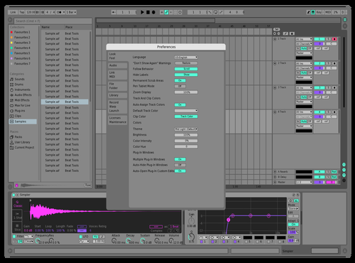 Fsa Theme for Ableton 10 by Reaver