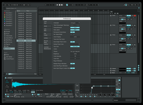 Bluecho Theme for Ableton 10 by therealjw