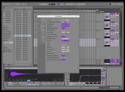 Bromomento Theme for Ableton 10 by Zennor