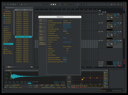 Muted Beta Theme for Ableton 10 by Barry