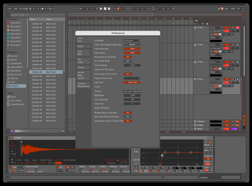 Run it Red Theme for Ableton 10 by Edmund Morris