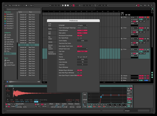 Cool!!! Theme for Ableton 10 by Deovrat Garg