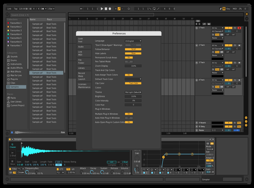 Dark4 Theme for Ableton 10 by Jo3L