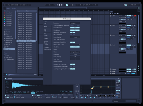 Freeze Theme for Ableton 10 by Damiano Confuorti (Killer-FX)