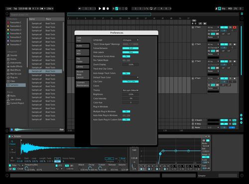 1Theme Theme for Ableton 10 by LUFS_FB
