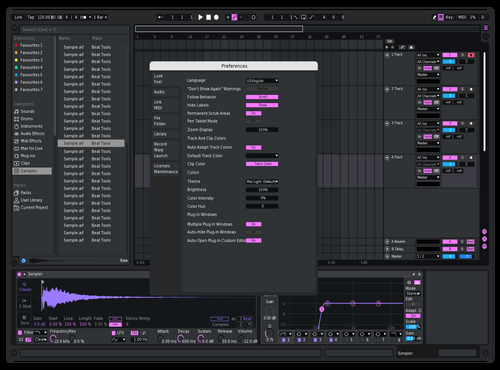 Beepb Theme for Ableton 10 by Reaver
