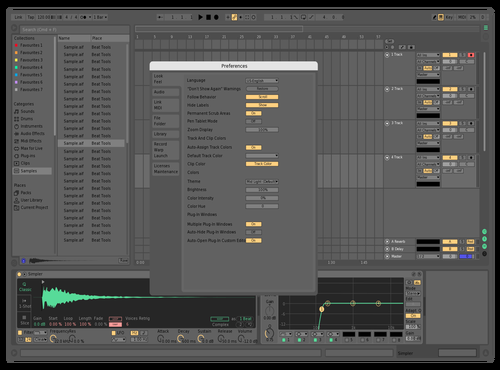 Low Contrast Theme for Ableton 10 by tsunk