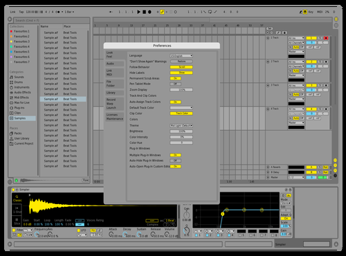 Slight Theme for Ableton 10 by Acxel