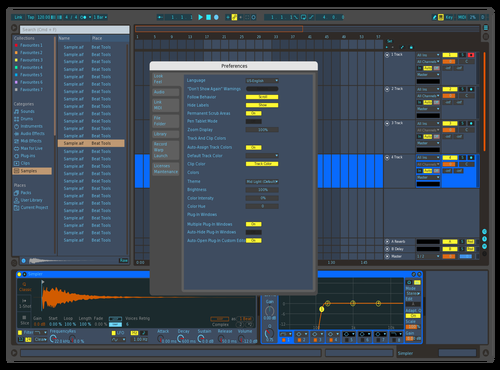 Technico Contrast 01 Theme for Ableton 10 by IDGI