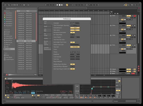 Concept black Theme for Ableton 10 by harris