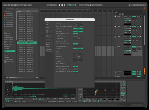 Green_Orange Theme for Ableton 10 by Skay