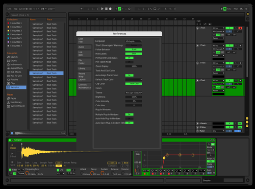 Selected2 Theme for Ableton 10 by GreyFortress