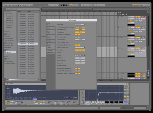 Normalgreypurple Theme for Ableton 10 by hans