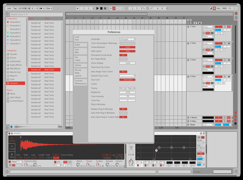Light Red Theme for Ableton 10 by jake