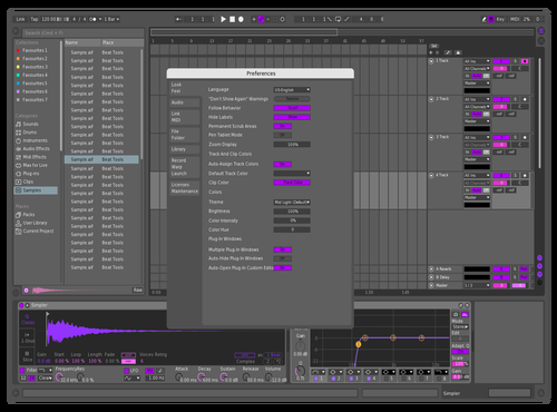 MIDN!GHT NEW THEME Theme for Ableton 10 by MIDN!GHT