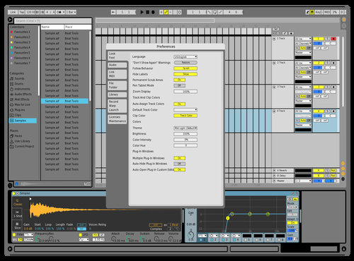 TP35 Theme for Ableton 10 by GIULLIANO LIZANDRELO