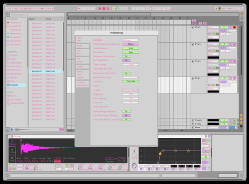 Blond Theme for Ableton 10 by willl