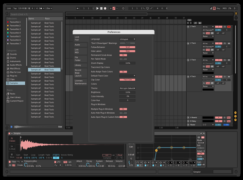Dakdken Theme for Ableton 10 by Andreev