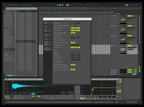 BAUS (fixed) Theme for Ableton 10 by Robby
