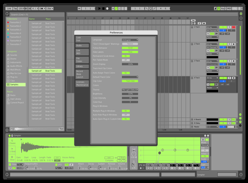 R10 Theme for Ableton 10 by Alexander