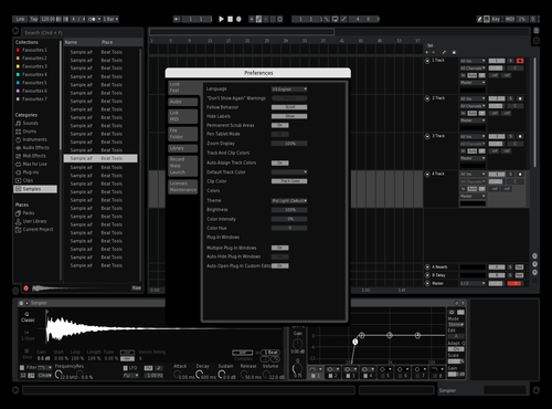 B&W Theme for Ableton 10 by Chi