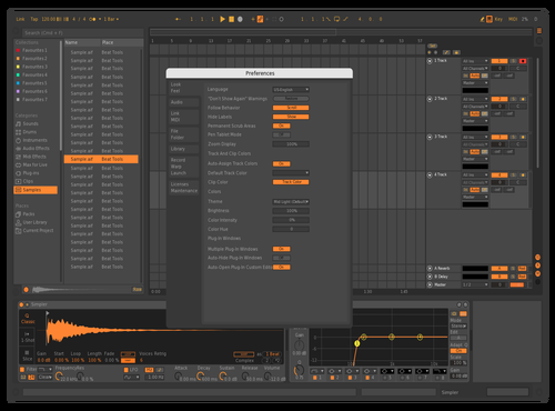 Ronimitanni Theme for Ableton 10 by ronimitanni
