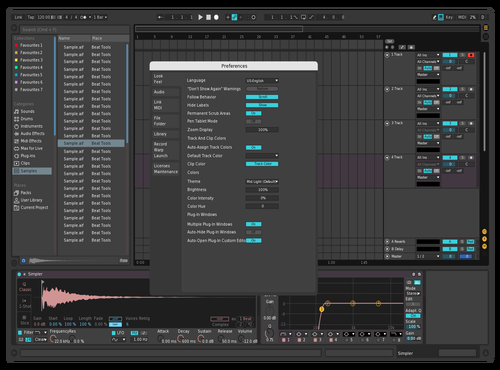 Rose Theme for Ableton 10 by Jonathan Roa