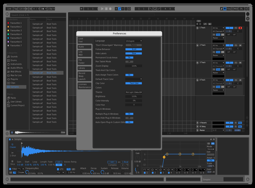 Chromium Deluxe Theme for Ableton 10 by DXGG
