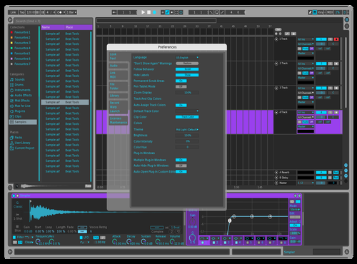 FEA$T Dark Theme for Ableton 10 by Milan R. Darden
