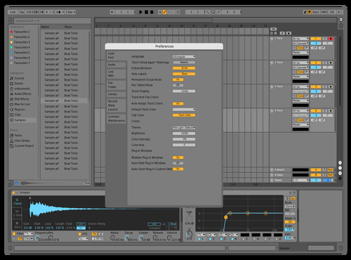 Live Pro Theme for Ableton 10 by studiopolyphonic