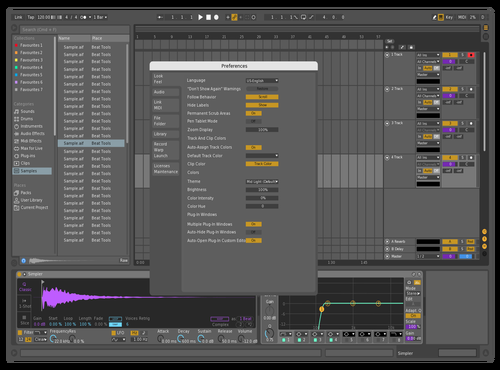Theme one Theme for Ableton 10 by lucas pons