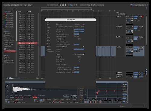 Edited Desaturated Dark Theme Theme for Ableton 10 by Yotsuba