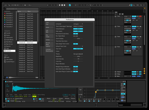My Dark Theme for Ableton 10 by Luk3Music
