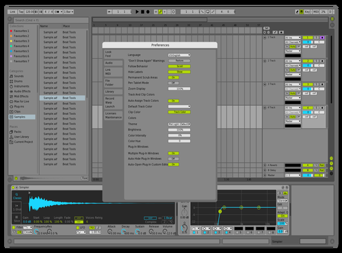 LT MidLight Theme for Ableton 10 by Reaver