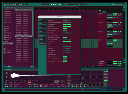 Achecek Theme for Ableton 10 by Achecek