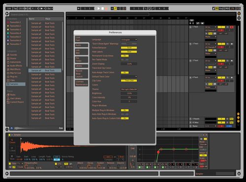 Logic with a tweak Theme for Ableton 10 by Fred