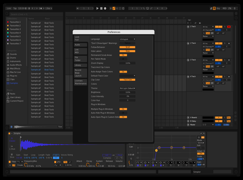 Black Theme for Ableton 10 by Lalocifuentes
